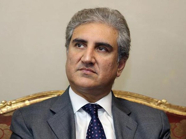 Pakistan Foreign Minister Shah Mahmood Qureshi (ANI/Twitter)