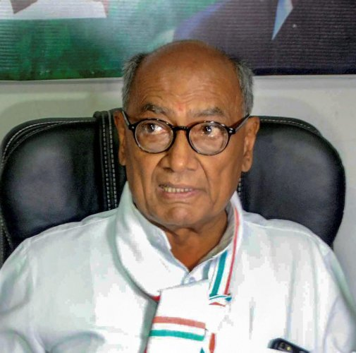 Senior Congress leader Digvijaya Singh. (PTI Photo)