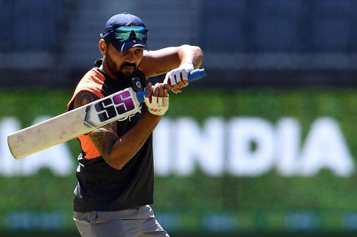 Indian cricketer Murali Vijay. AFP file photo