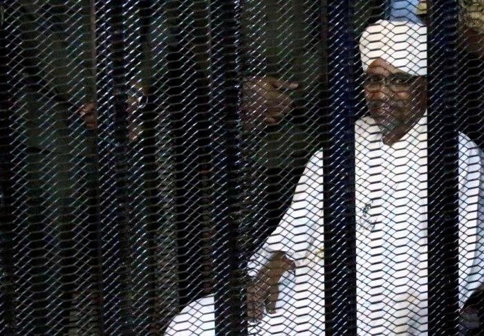 Sudan's former president Omar Hassan al-Bashir. (Reuters File Photo)