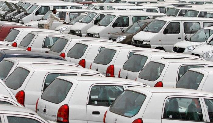 Domestic sales declined by 34.3 per cent at 97,061 units last month as against 1,47,700 units in August 2018. Reuters File Photo