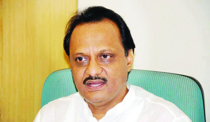 NCP's Ajit Pawar and 70 others have an FIR registered against them in a co-operative bank scam case.  DH File Photo