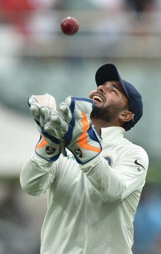 Pant has been criticised for being a reckless keeper at times but his record suggests otherwise. AFP File Photo