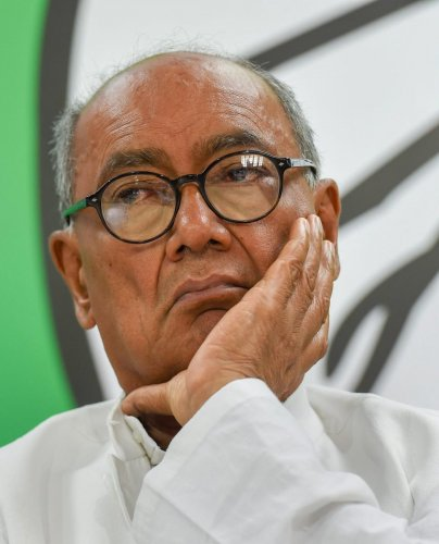Image result for Case Filed Against Digvijay Singh in Basti