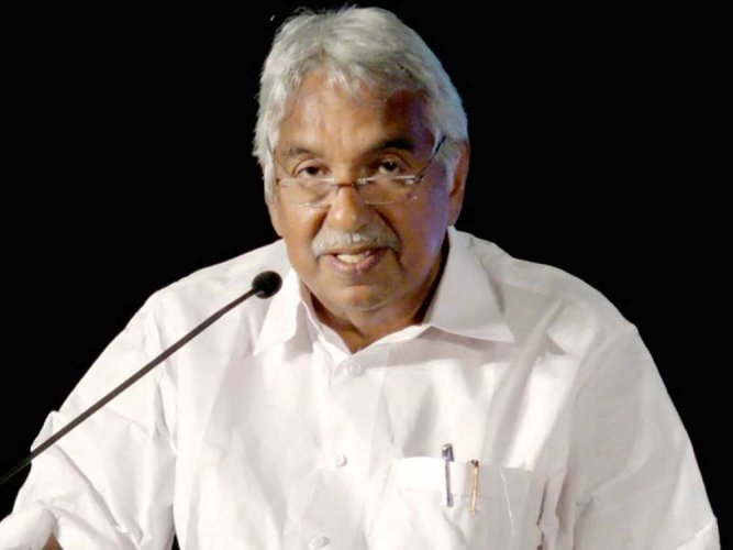 Former Chief Minister Oommen Chandy. File photo