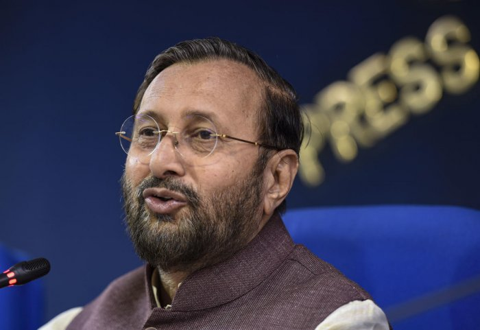 Union Minister of Environment, Forest and Climate Change Prakash Javadekar. PTI file photo