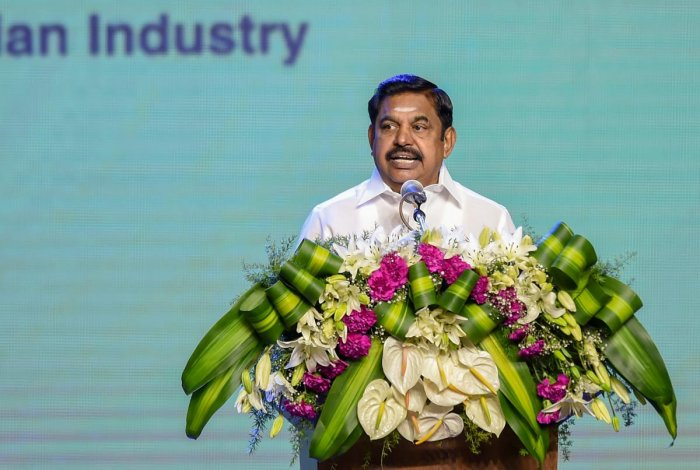 Palaniswami addressed an investors meet on Tuesday hosted by the Consulate General of India in New York and the US India Strategic Partnership Forum. (PTI file photo used for representation)