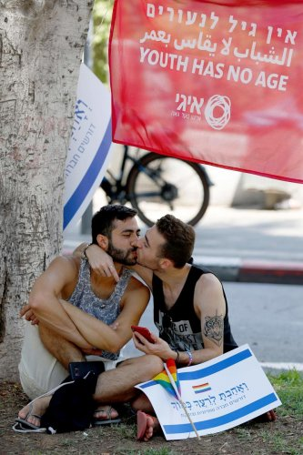 Gay men around the world receive less paid parental leave than lesbian or heterosexual couples. (AFP Photo)