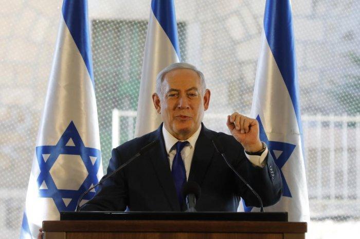 Israel Prime Minister Benjamin Netanyahu. (AFP Photo)