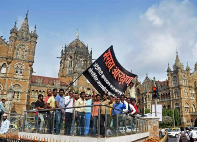 Even though the Maharashtra government has given reservation for 12% in education and 13% in jobs by creating a new category of socially and economically backward class, they are not happy with the implementation. (PTI File Photo)