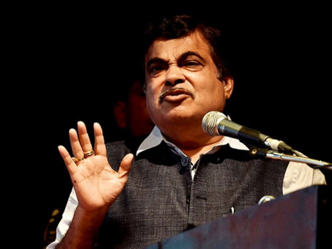 Gadkari had also fainted on stage during an event in Rahuri, Ahmednagar in December last year as well.(PTI File Photo)
