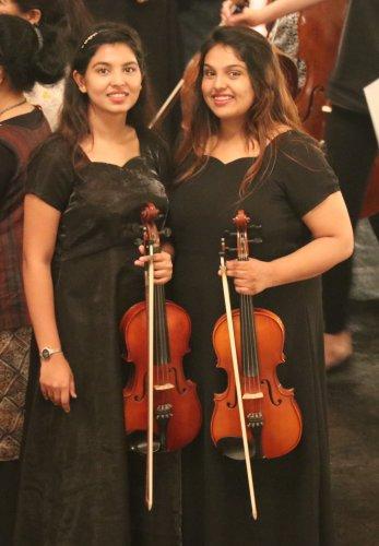 Michelle Joanna and Gabriella Tannishtha.