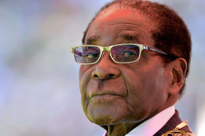 Former Zimbabwean President Robert Mugabe. (AFP File Photo)