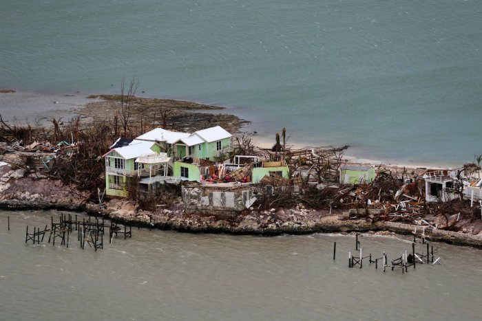 Dorian was a Category 5 hurricane -- the highest on the five-level wind scale -- when it slammed into the northern Bahamas on Sunday, leaving a trail of unimaginable destruction. (Reuters Photo)