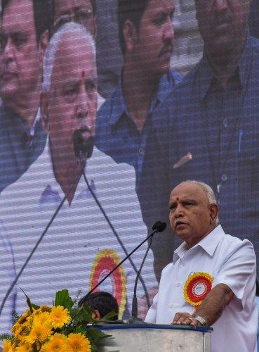Karnataka Chief Minister B SYediyurappa.