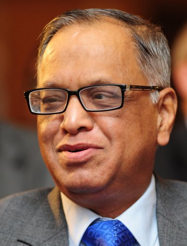 Narayana Murthy, founder of IT firm, Infosys. (File Photo)