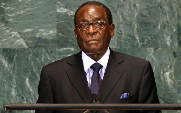 Former President of Zimbabwe Robert Mugabe. (DH Photo)