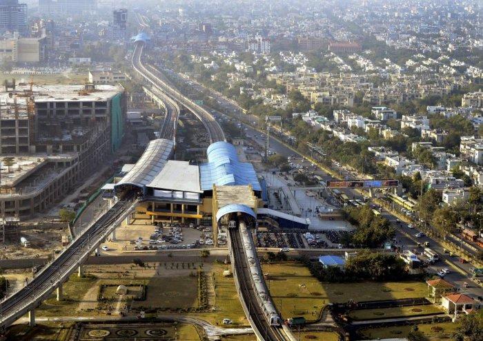 Delhi Metro. PTI file photo