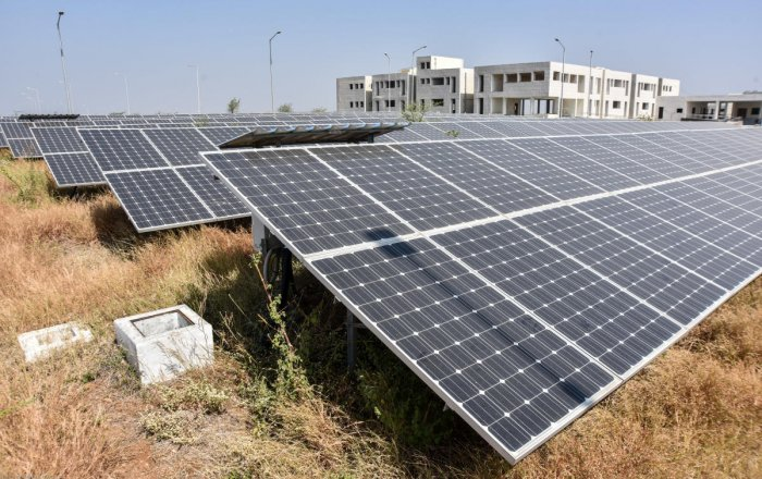 Karnataka was the first southern state, according to the government, to come out with a solar policy in 2011. DH File Photo