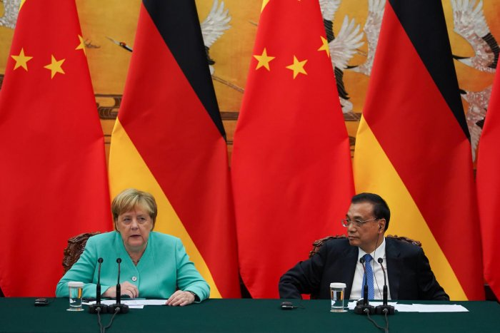 After talks with President Xi Jinping and Premier Li Keqiang, Merkel said Beijing had listened to her views. Reuters Photo