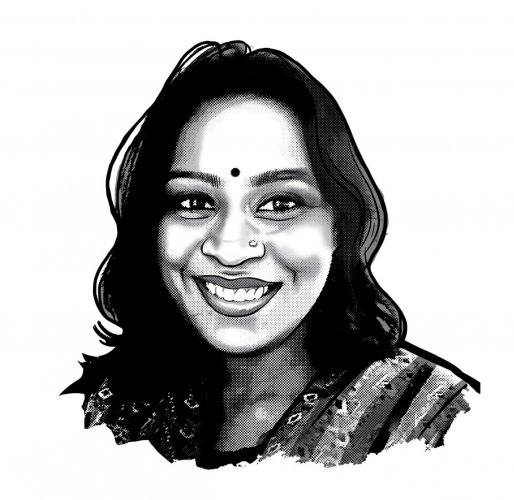 Aarthi Ramachandran often works on the assumption that to feel is to believe.