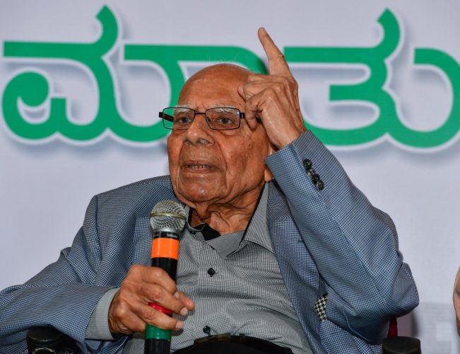 The prime minister recalled that one of the best aspects of eminent jurist and former Union minister Jethmalani was the ability to speak his mind. (DH File Photo)