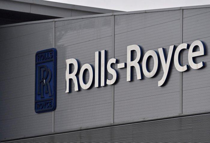 A Rolls-Royce logo. Reuters photo
