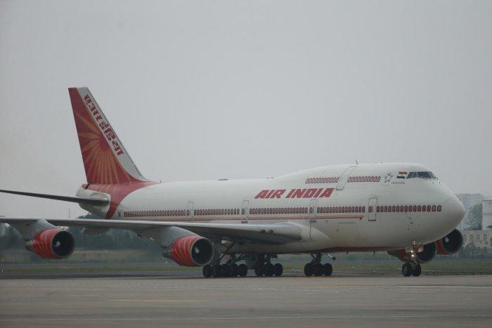 Air India plane. (Wu Hong/File Photo)