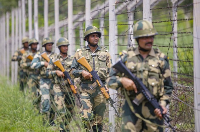 Financial security is the main factor for women joining the country's largest border guarding force BSF in the constabulary rather than the desire to serve the nation. PTI File Photo