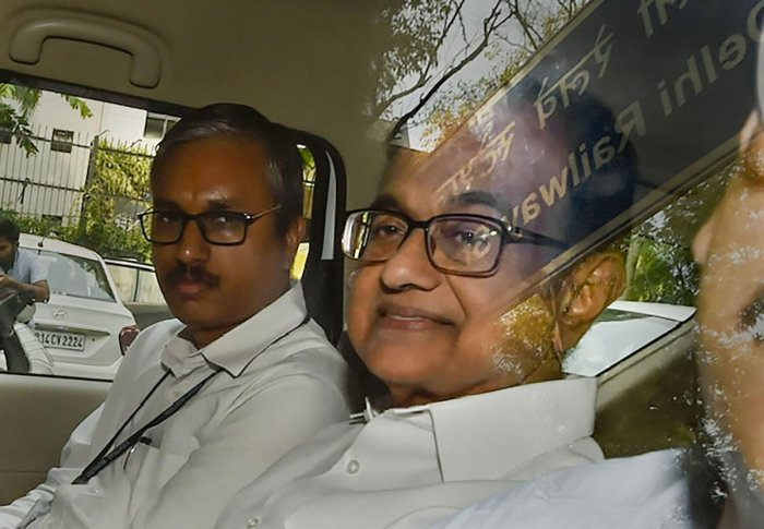 """Launching a no-holds-barred attack on Chidambaram, Shah said the former finance minister targeted him to protect the interest of his """"pet exchange"""" as their dominance was threatened by MCX-SX. (PTI File Photo)"""
