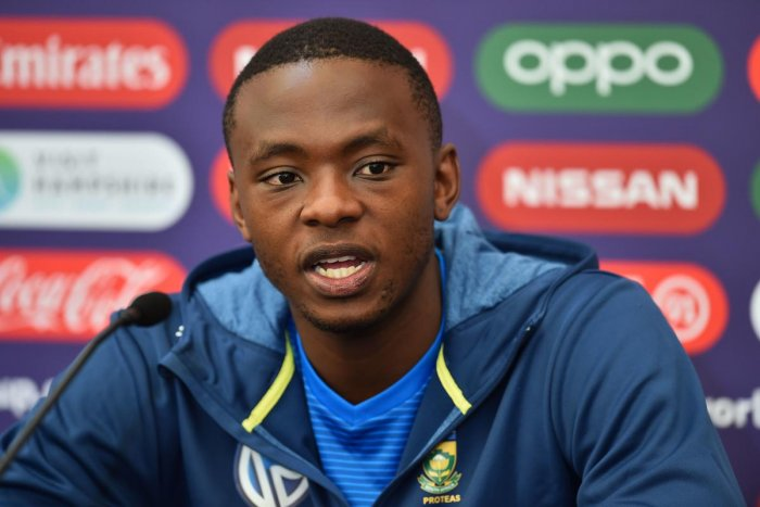 South Africa's Kagiso Rabada (AFP Photo)