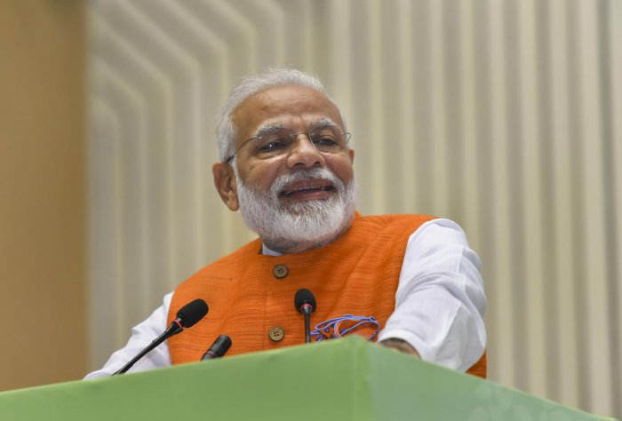 """The Public Policy Research Centre (PPRC) released a monograph -- """"100 milestones in hundred days"""" -- to highlight the BJP-led NDA government's major decisions, and asserted they have recorded new chapters in governance."""
