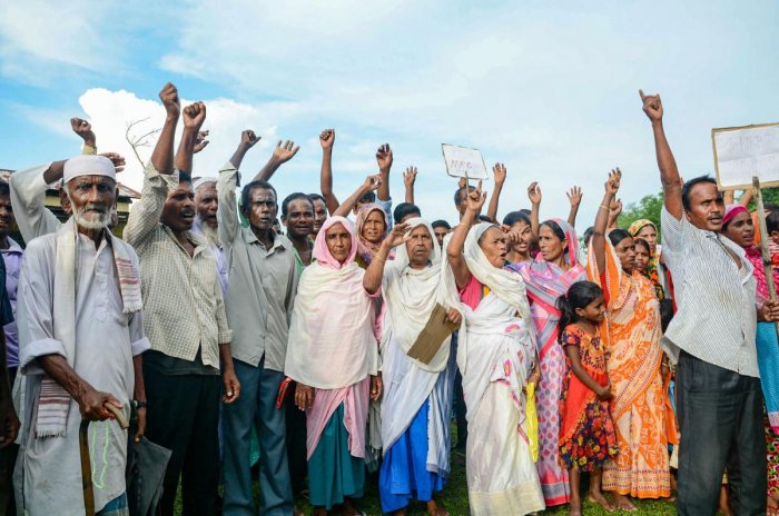 More than 3.30 crore people had applied to be included in the NRC. (PTI Photo)