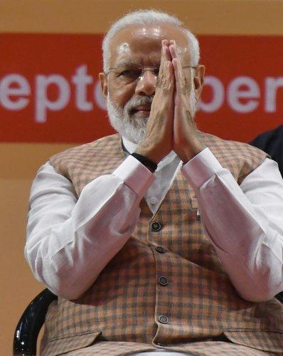 Indian Prime Minister Narendra Modi. (AFP Photo)