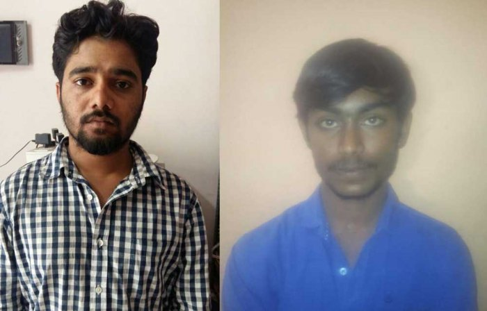 Praveen (24) and Abhi (26), with a long history of serious crimes, are accused of hacking Mahesh Kumar to death in northern Bengaluru on the night of September 6.