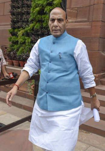Union Defence Minister Rajnath Singh (PTI Photo)