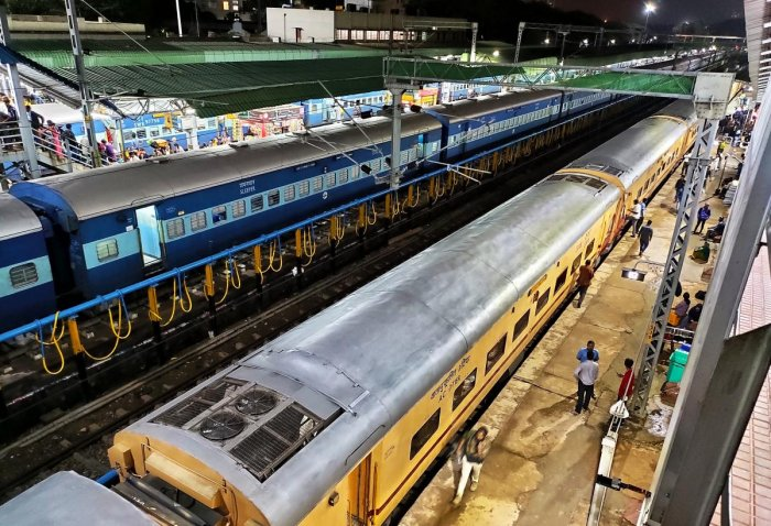 Plastic bottles to help recharge phones at rly stations