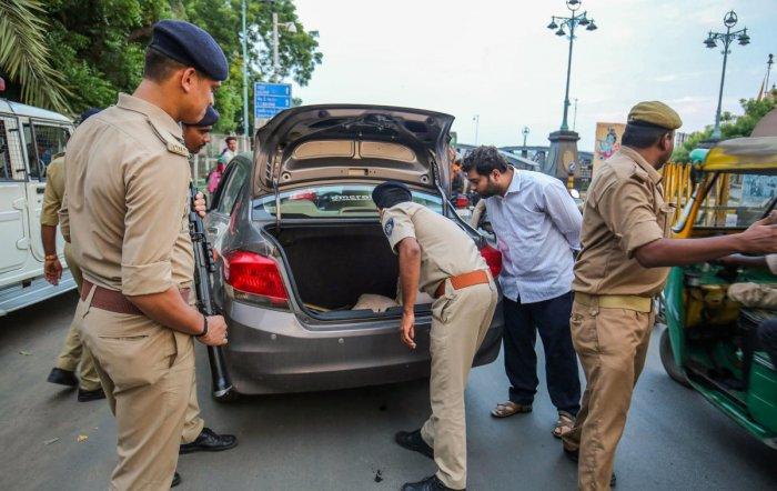 Karnataka police said they were maintaining high vigil since the previous terror alert a month ago. (Representative Image) (PTI Photo)