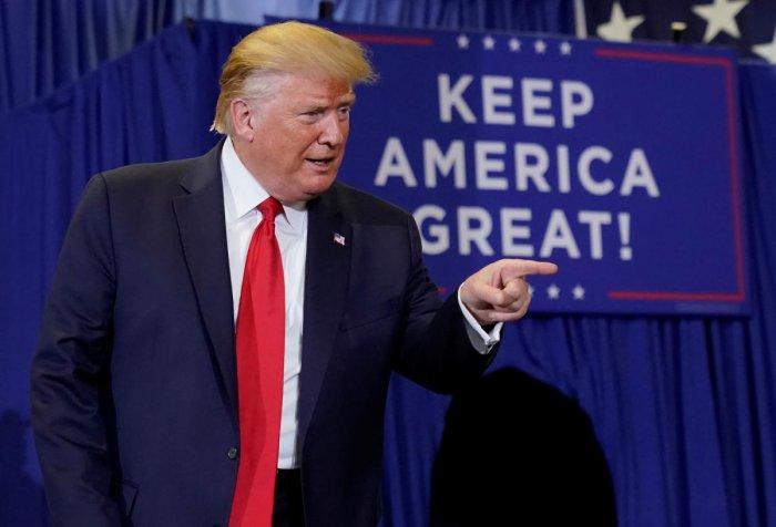 U.S. President Donald Trump. (Reuters Photo)
