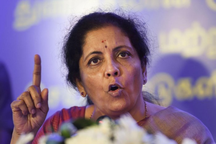 Union Finance Minister Nirmala Sitharaman (PTI Photo)