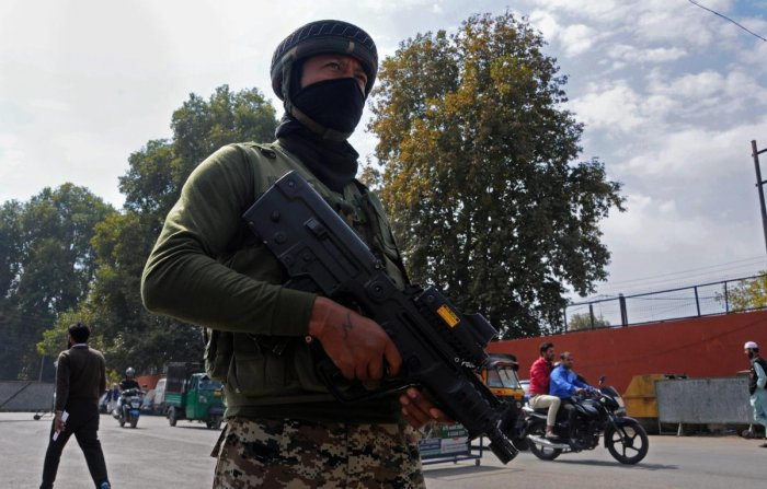 On September 4, the Army said Pakistan is pushing infiltrators into Kashmir to carry out terrorist activities and create disturbance while playing video clips showing two Pakistani nationals associated with the Lashker-e-Taiba (LeT) terror group -- Mohammad Khalil and Mohammad Nazim of Rawalpindi -- who were arrested in Gulmarg sector on August 21. (PTI File Photo)