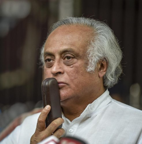 Ramesh was the union minister for environment and forest in UPA-II. PTI file photo