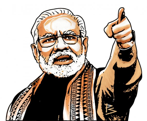 At a recent meeting held to plan BJP's poll strategy and identify candidates for the upcoming Assembly polls in the national capital region of Delhi, party leaders suggested that Prime Minister Narendra Modi should be the face of the party as it goes to t