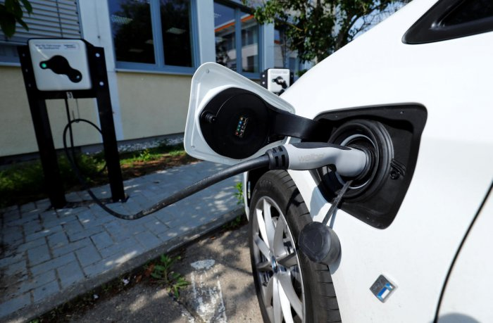 An electric vehicle. Reuters file photo