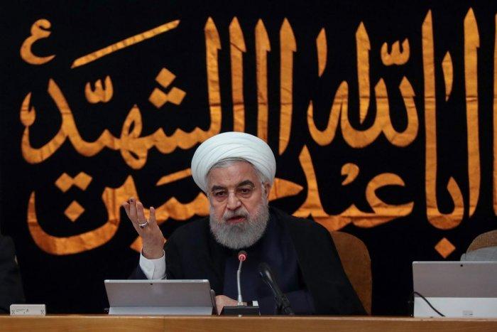 Iran President Hassan Rouhani. AFP file photo