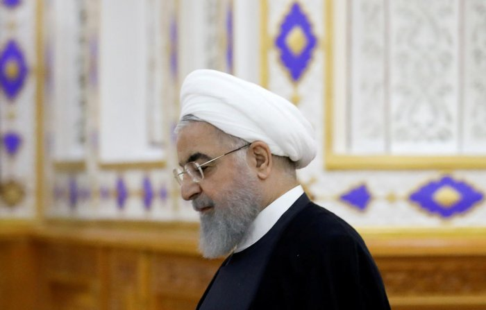 Iranian President Hassan Rouhani. (Reuters File Photo)