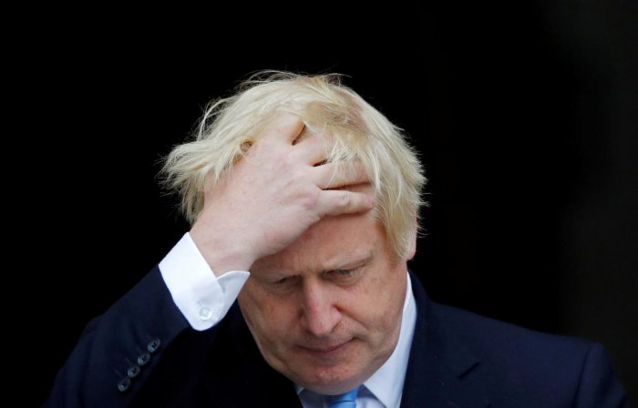 Britain's PM Boris Johnson has vowed to pull UK out of the EU. Reuters photo