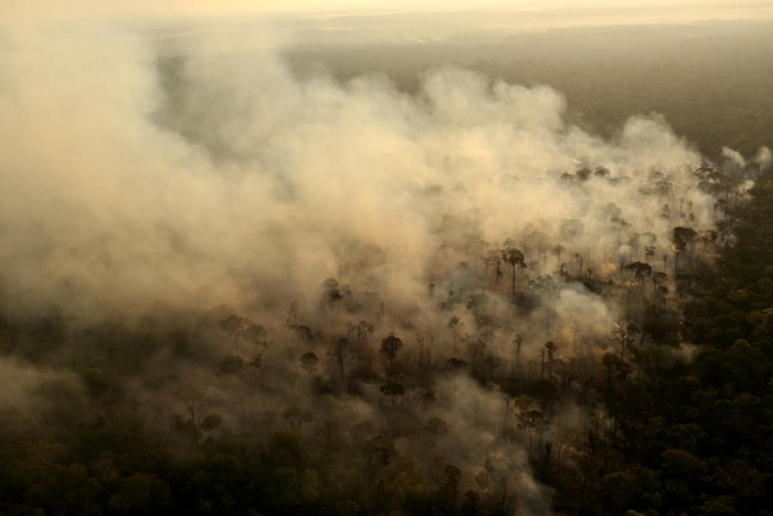 Queimadas, or burnings, are nothing new in Novo Progresso, located on the frontier where Brazil's farmland edges the Amazon rainforest in the northern state of Para. Reuters file photo