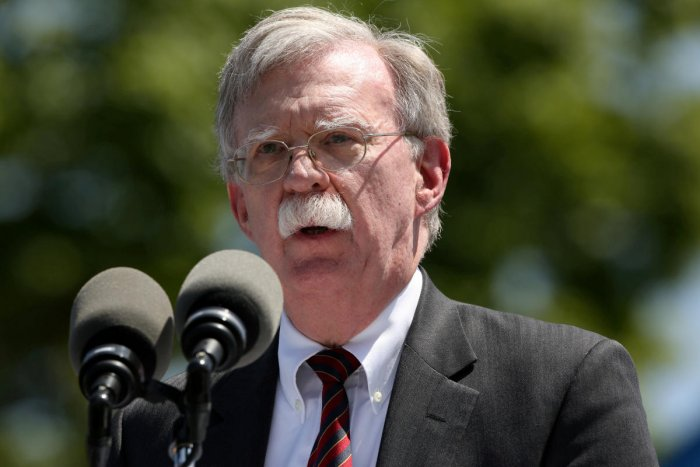Bolton, a hardliner who held senior positions in the George W. Bush administration, left his position on Tuesday. Reuters file photo