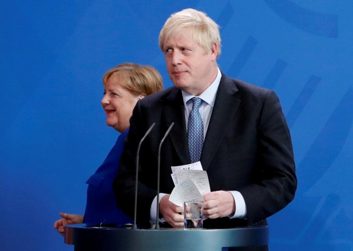 Britain Prime Minister Boris Johnson has vowed to pull UK out of the EU. Reuters file photo